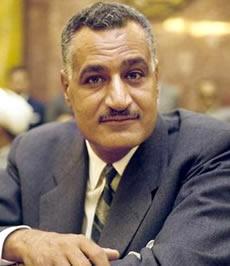 Gamal Abdel Nasser - Egyptian President