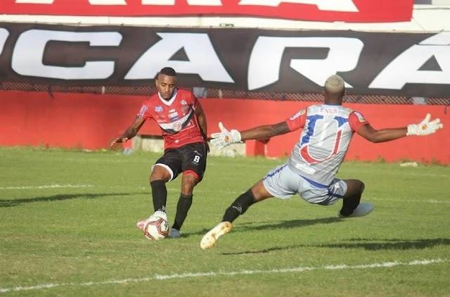 Atlético vence o clássico contra o Unirb e segue na liderança do Baianão