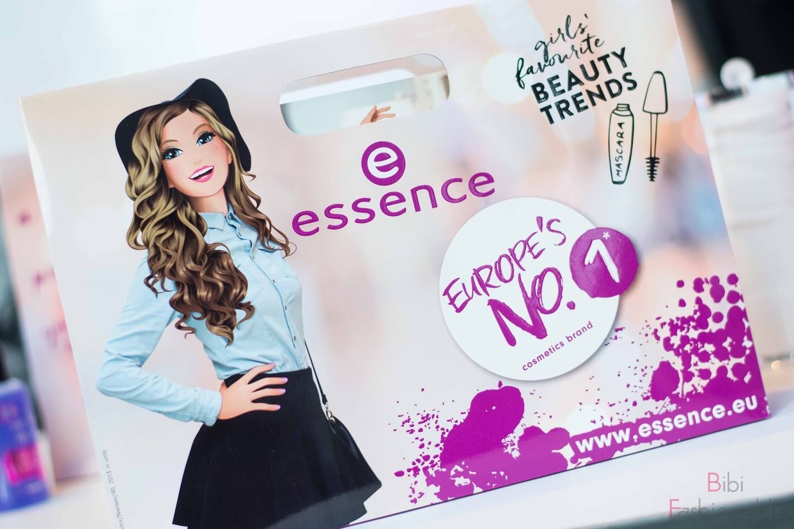 essence event köln spring summer 2017 Goodiebag