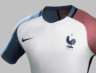 Jersey Perancis Euro 2016 Away