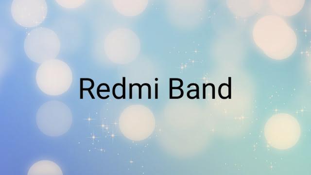xiaomiintro redmi band logo