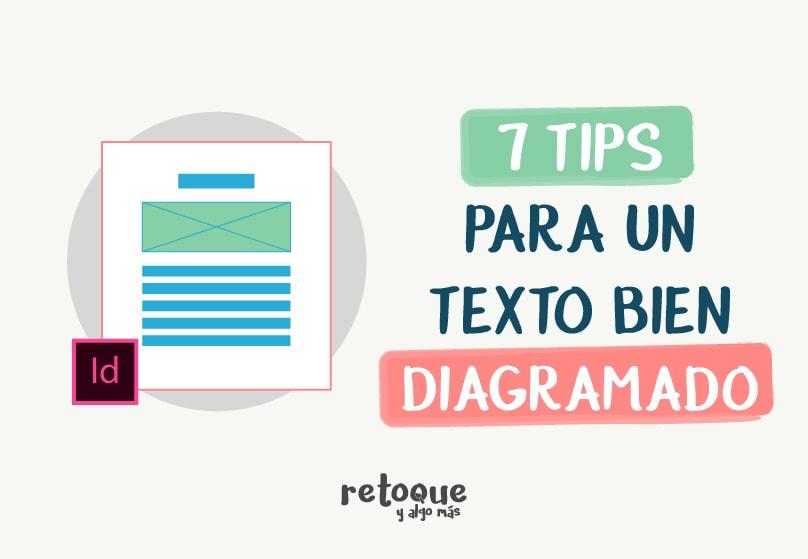 7 consejos para diagramar un texto en indesign