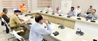मुख्यमंत्री योगी ने मनरेगा के अन्तर्गत श्रमिकों को विभागीय कन्वर्जेन्स द्वारा रोजगार उपलब्ध कराने के सम्बन्ध में वीडियो काॅन्फ्रेंसिंग की         संवाददाता, Journalist Anil Prabhakar.                 www.upviral24.in