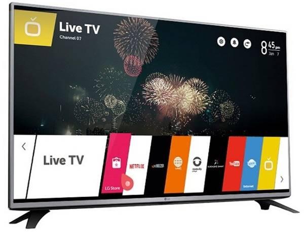 Smart TV LG LH6000 de 43 polegadas traz como software WebOS 3.0