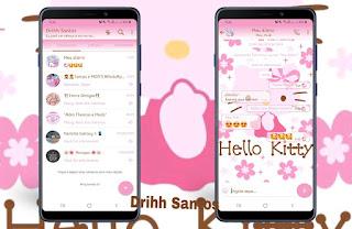 Hello Kitty 2 Theme For YOWhatsApp & Fouad WhatsApp By Driih Santos