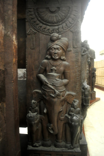 Elephant rider, Bharhut Stupa, Indian Museum, Kolkata