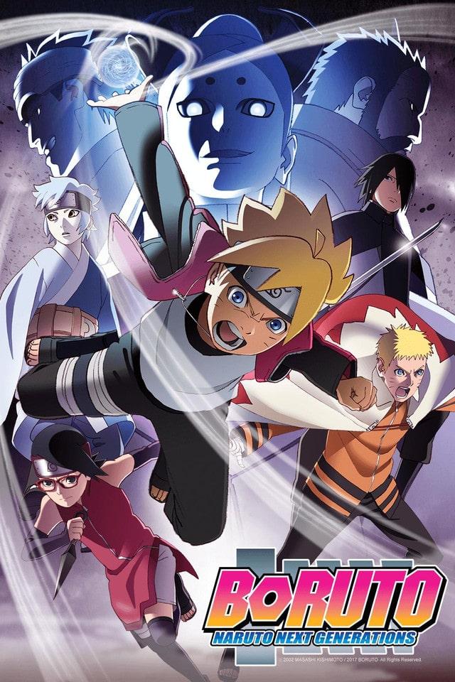 مشاهدة و تحميل حلقات أنمي Boruto Naruto Next Generations مترجم