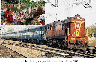 chhath puja special train from delhi to darbhanga 2015