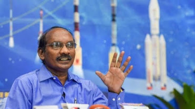 Dr. K. Sivan, chairman of the Indian Space Agency (ISRO)