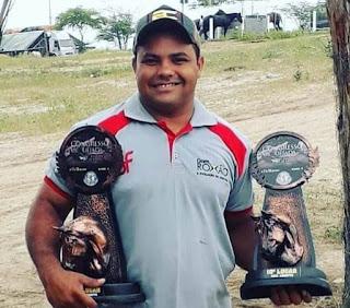 Vaqueiro potiguar 'CANHOTINHA DE OURO' é encontrado morto dentro de açude em Bacabal (MA)
