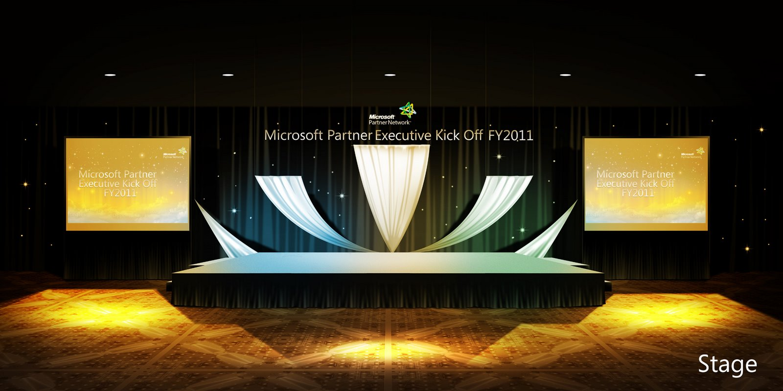 Microsoft Stage Design | neutralart | Stage Design ...