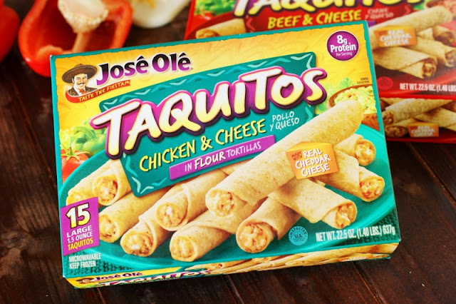 Jose Ole Taquitos for Cheesy Taquito Rice Bake