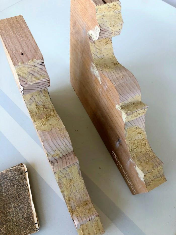 2x10 board corbel cut outs