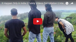 The Most Funniest Video Ever, It Happens Only In India