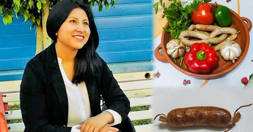 JENNIFER IQUIAPAZA PACCARA: Talento PRONABEC quiere poner de moda los embutidos de cuy