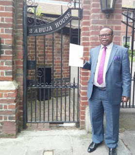 Muhammadu Buhari Gets Quick Recovery Letter From Nigerian In the UK