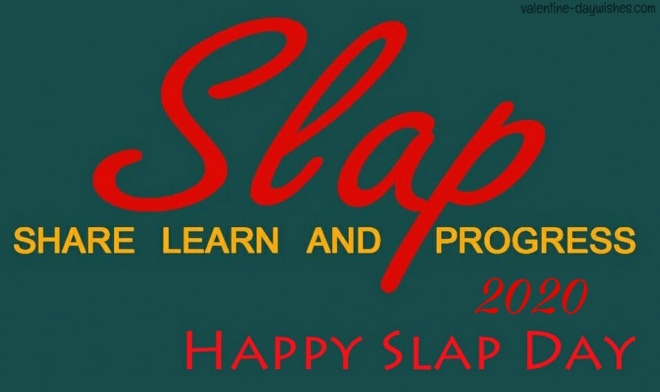 Slap Day Quotes, SMS