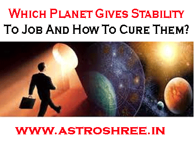 power planets for job stability in astrology