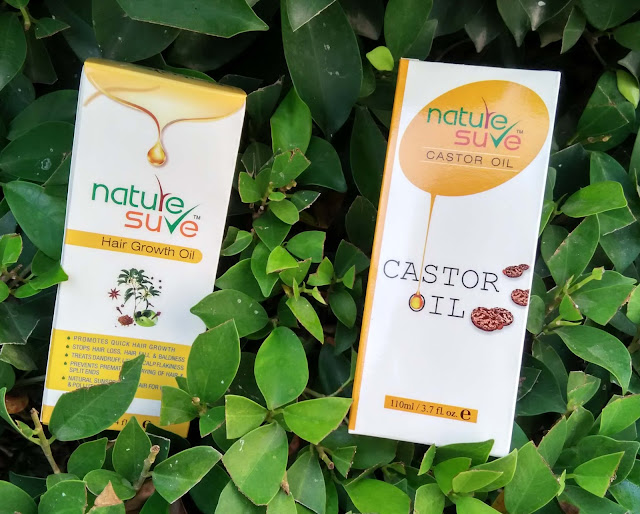 Nature sure hair oils, skin oils review