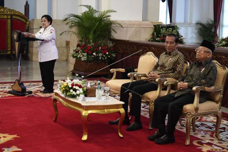 Megawati Tantang Pendukung Khilafah Temui Fraksi PDIP di DPR