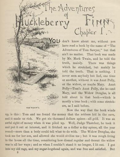 The Project Gutenber Adventures  of Huckleberry Finn