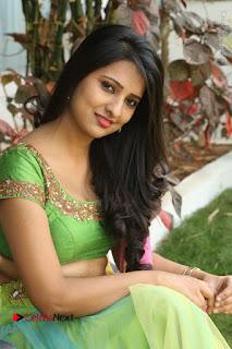 Actress Nikitha Bisht Stills in Lehenga Choli at Pochampally Ikat Art Mela Launch  0332.JPG