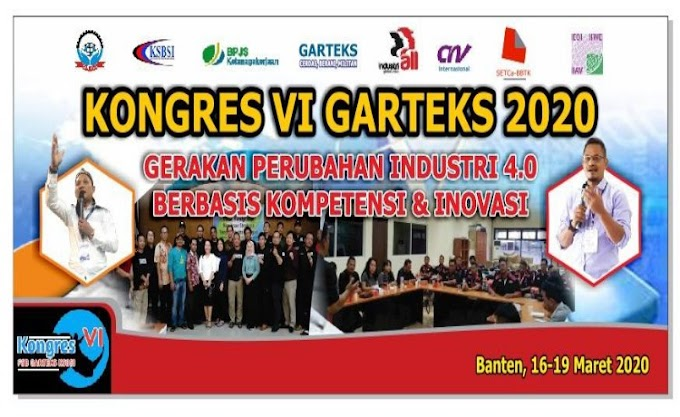 Kongres FSB Garteks VI TA.2020, akan Dihadiri Director ILO Indonesia, CNV International dan Forkopimda