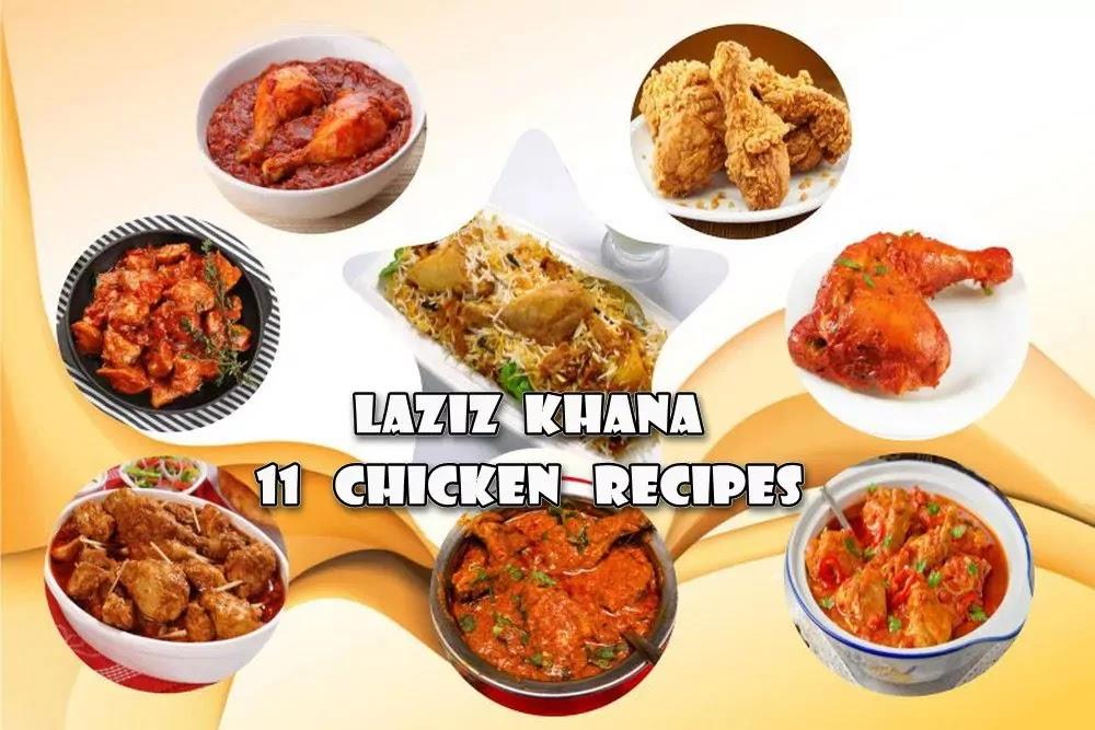 khana khazana chicken recipes in hindi