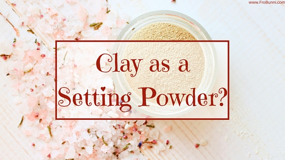FroBunni | Clay as setting powder