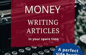 Become a freelance article writer and earn money working from home