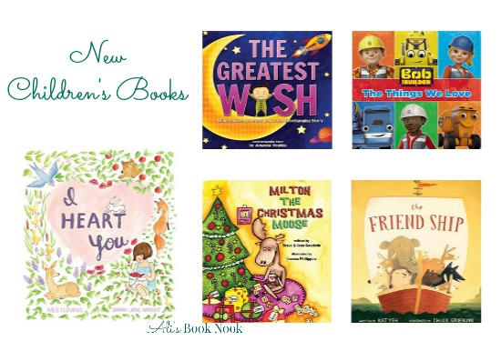 delightful new children's books available december 6