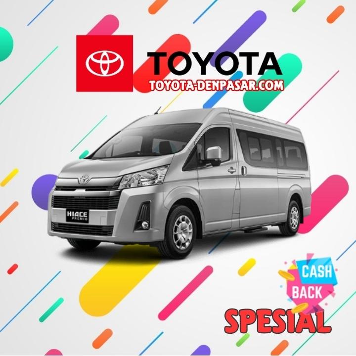 Toyota Denpasar - Lihat Spesifikasi All New Hiace Premio, Harga Toyota Hiace Premio Bali dan Promo Toyota Hiace Premio Bali terbaik hari ini.