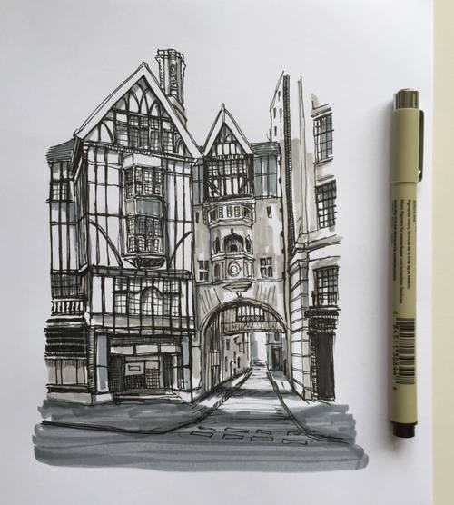 04-Historic-part-of-Town-Phoebe-Atkey-Architecture-Urban-Drawings-and-Interior-Design-Sketches-www-designstack-co