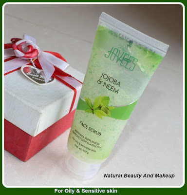 JOVEES JOJOBA & NEEM FACE SCRUB REVIEW for oily and sensitive skin