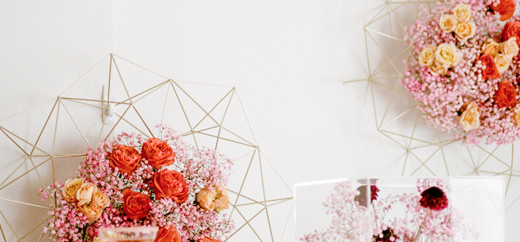 A Whimsical Fête with Pops of Coral Galore!