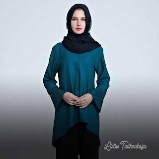 Model Baju Muslimah Yang Simple Sederhana Terbaik 2018