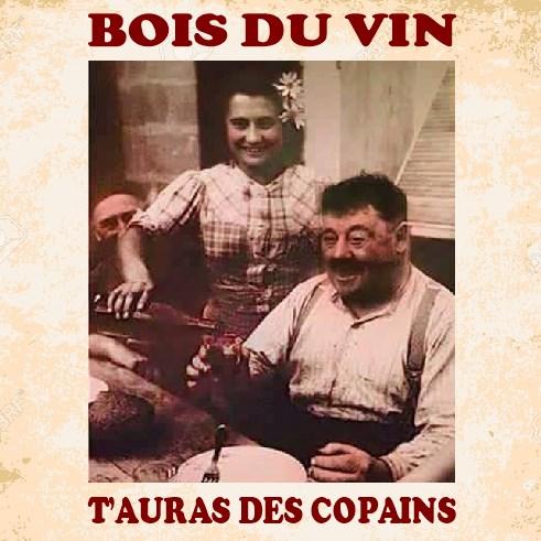 Bois du vin, t'auras des copains