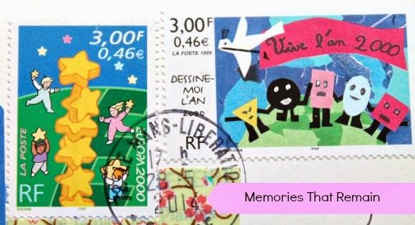 znaczki Francja