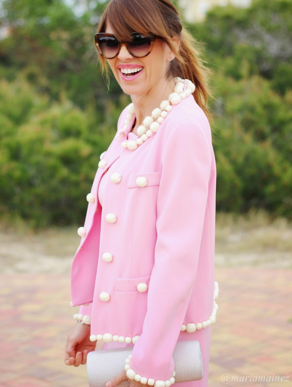Moschino - Total look Moschino 2015 - Look Comuniones - Marc Jacobs sunnies - Fashion Blogger