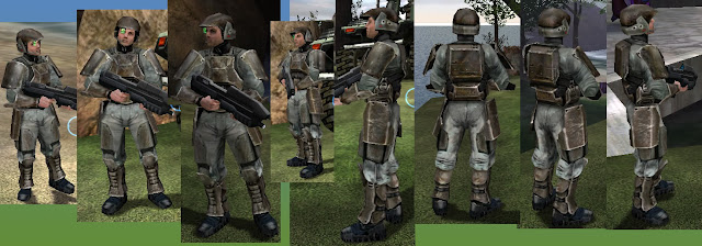 Halo Combat Evolved Marine Cosplay Reference Image