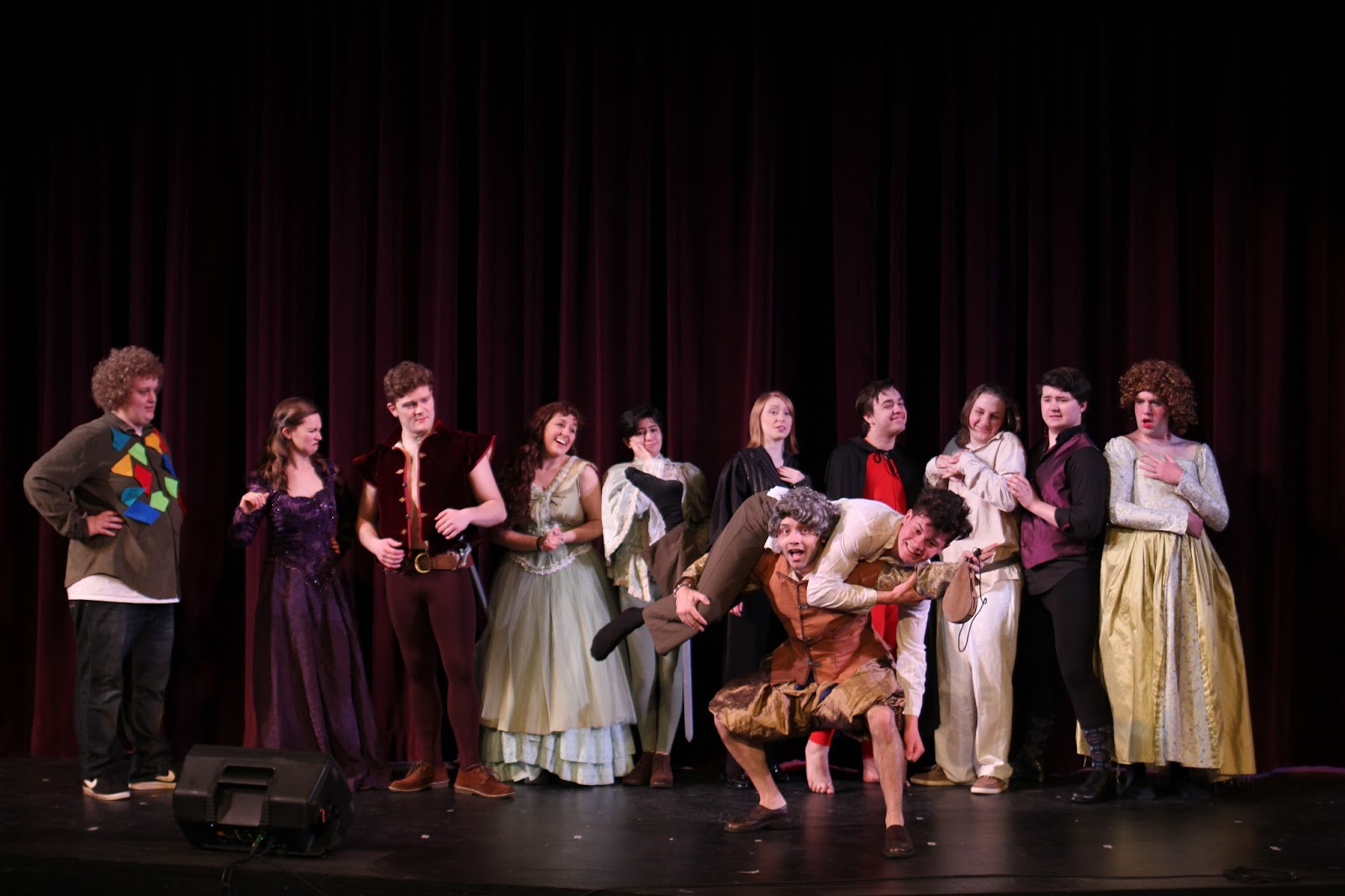 a review of the boston colleges production of servant of two masters a play by carlo goldoni And adapted by joan holden stephen belber carol mulroney john belluso henry flamethrowa a nervous.