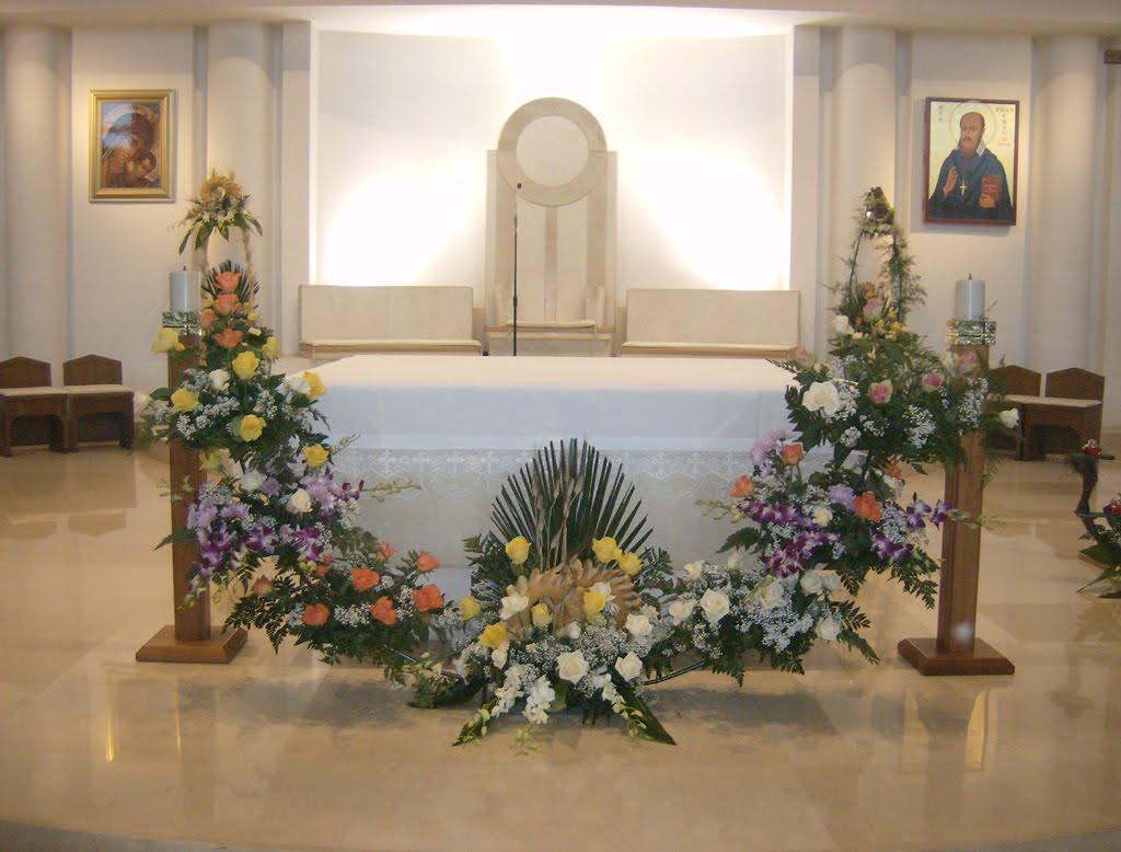 Anniversario Di Matrimonio Liturgia.Arte Floreale Per La Liturgia 8 Mag 2012