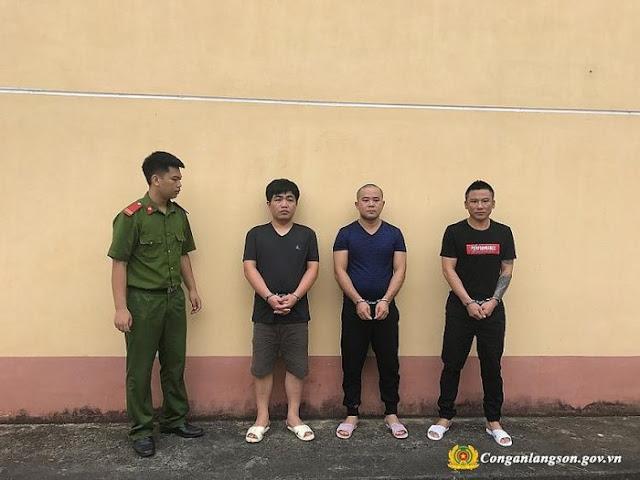 Nhóm người Trung Quốc trộm xe gắn máy ở Lạng Sơn