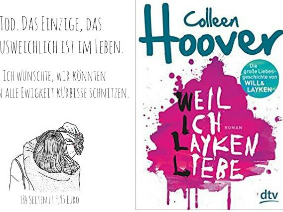 REZENSION || WEIL ICH LAYKEN LIEBE ~ COLLEEN HOOVER