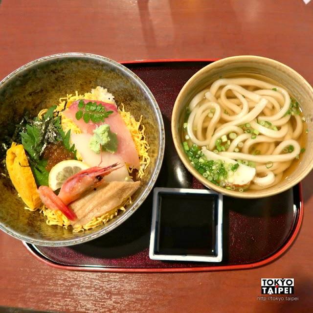 【鄉屋敷】老餐廳品嘗讚岐烏龍麵Q彈有麥香 海鮮丼也很美味
