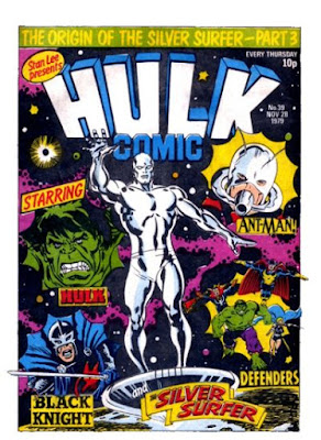 Hulk Comic #39, the Silver Surfer