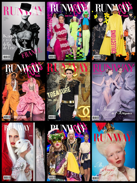 Runway Magazine issues 2012-2020
