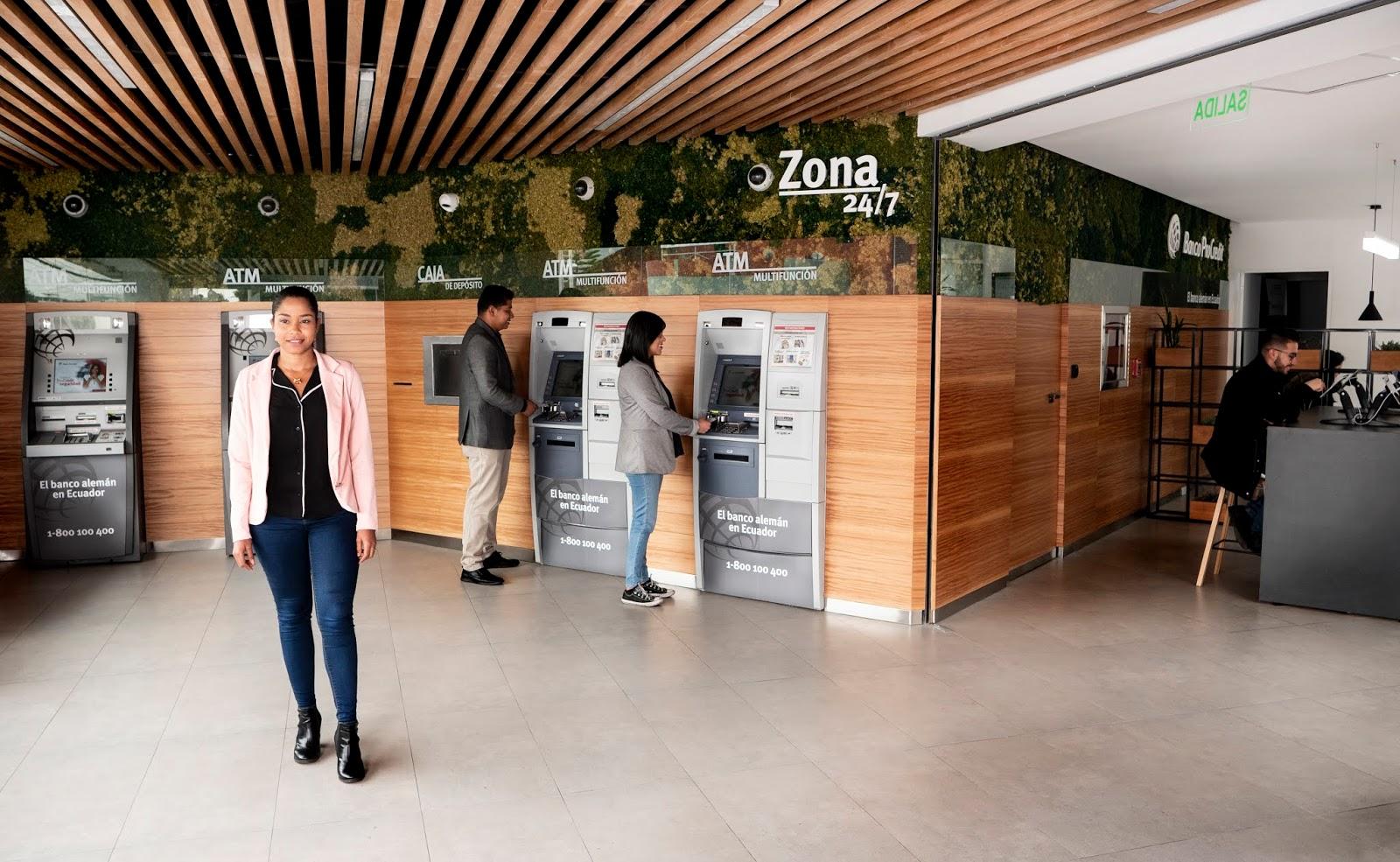 Banco ProCredit habilita los retiros sin costo en cajeros Banred a nivel nacional