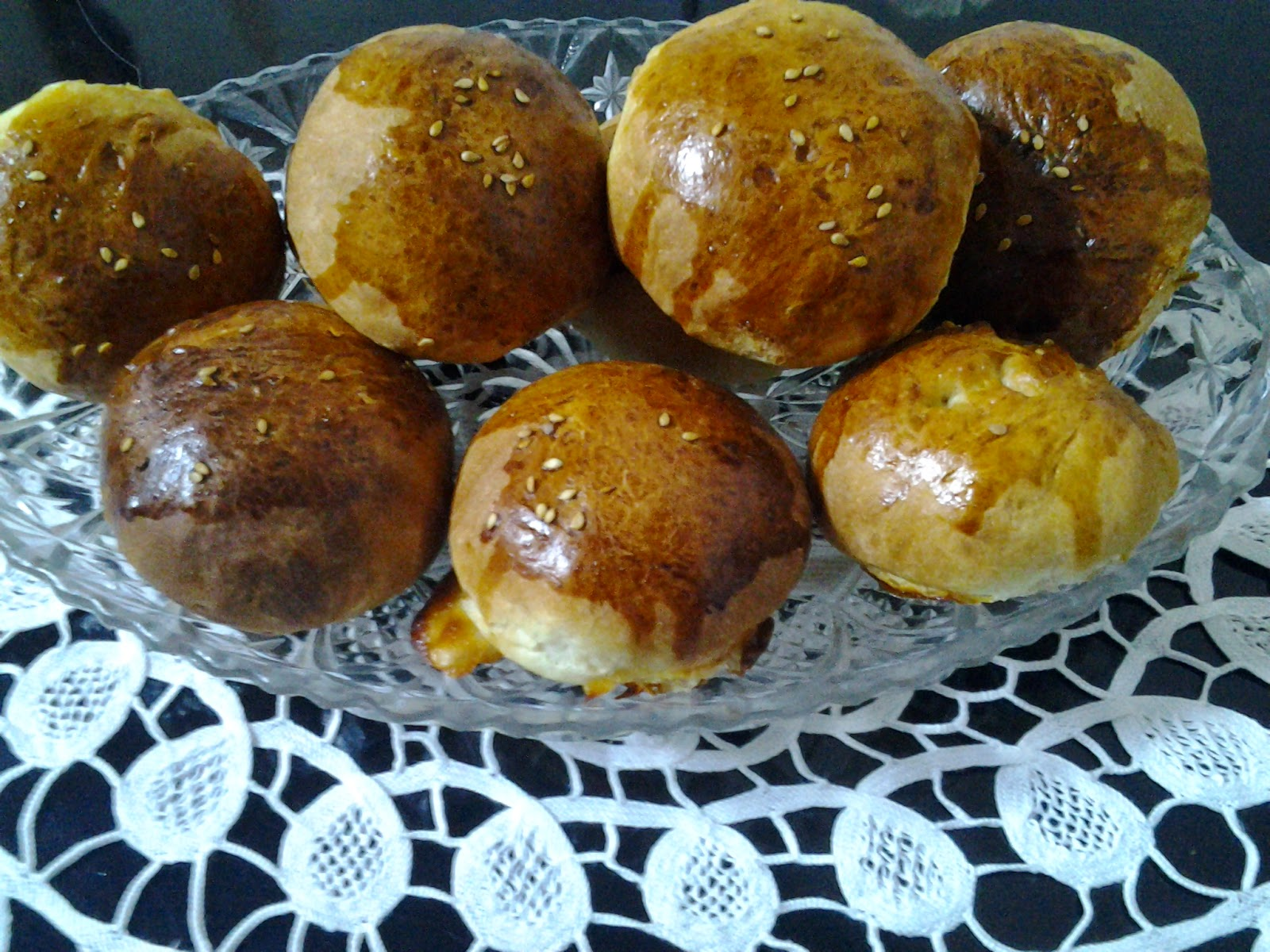 Dereotlu Peynirli Anne Poğaçası