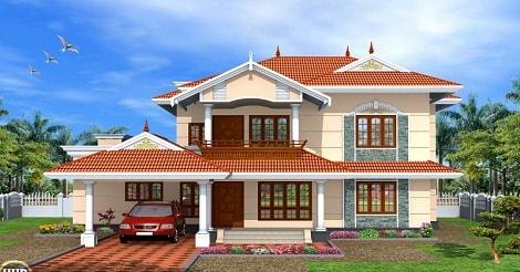 Desain Atap Rumah Minimalis asimetris